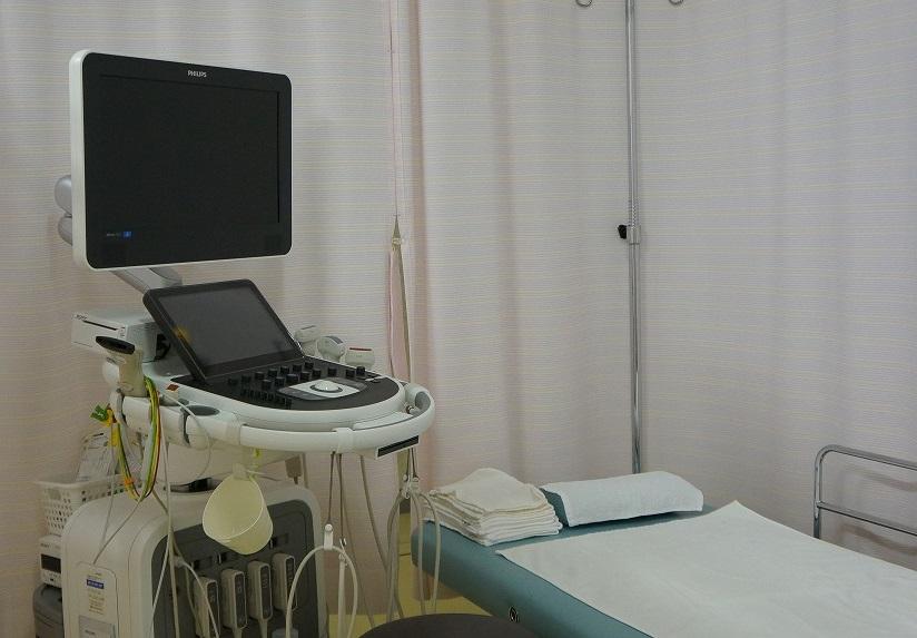 腹部エコー装置